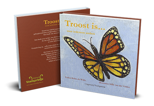 Boek Troost is voor iedereen anders Esther Bohte ISBN 9789082421446