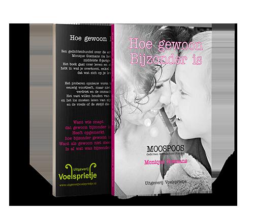 Moospoos gedichtenbundel Hoe gewoon Bijzonder is van Monique Goemans ISBN 9789090301501