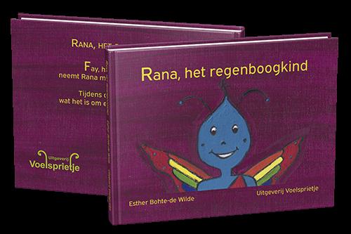 Prentenboek Rana het regenboogkind ISBN 9789082421422