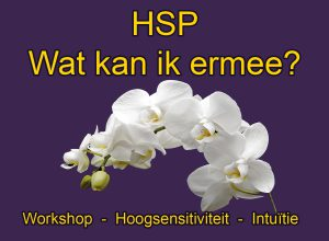 Lezing - voorproeverij Workshop Hoogsensitiviteit HSP wat kan ik ermee?