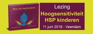Lezing hoogsensitieve kinderen HSP in Veendam