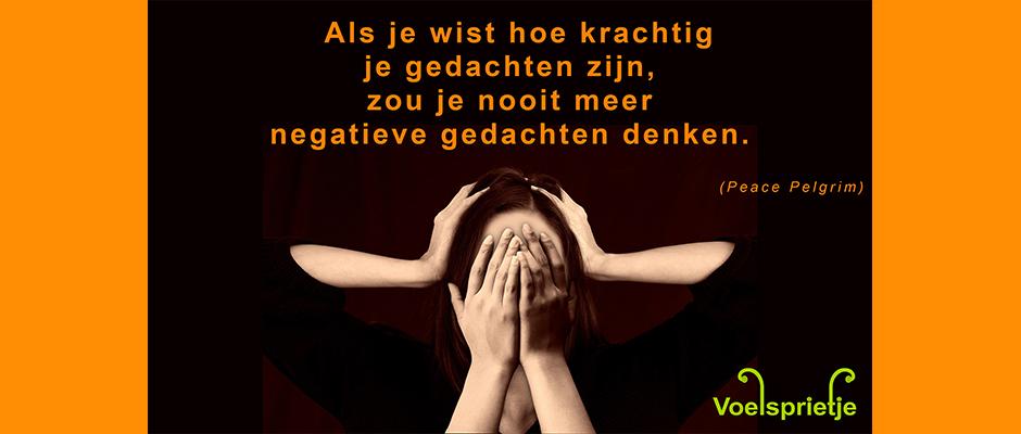 Negatieve Gedachten en Hoogsensitiviteit