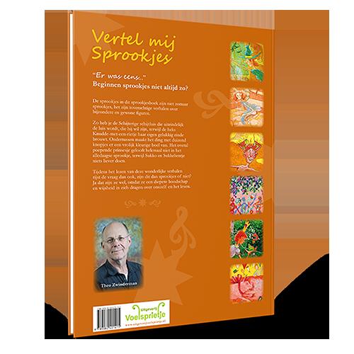 Achterkant boek Vertel mij Sprookjes Theo Zwinderman ISBN 9789082421415