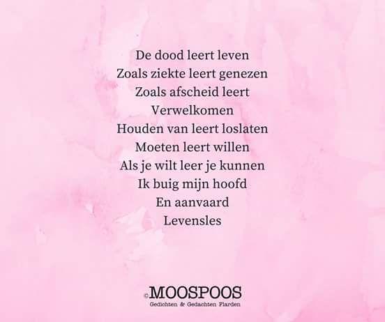 Gedicht Moospoos Monique Goemans