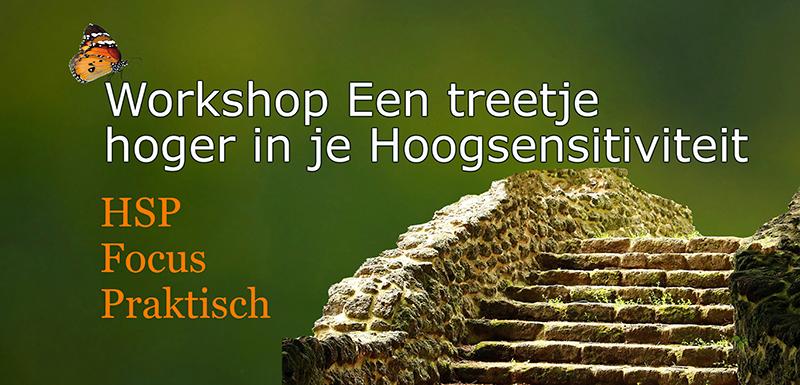 Workshop Een treetje hoger in je hoogsensitiviteit Voelsprietje Veendam