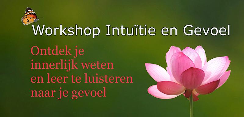 Workshop Intuitie en Innerlijk Weten luisteren naar je gevoel Voelsprietje Veendam